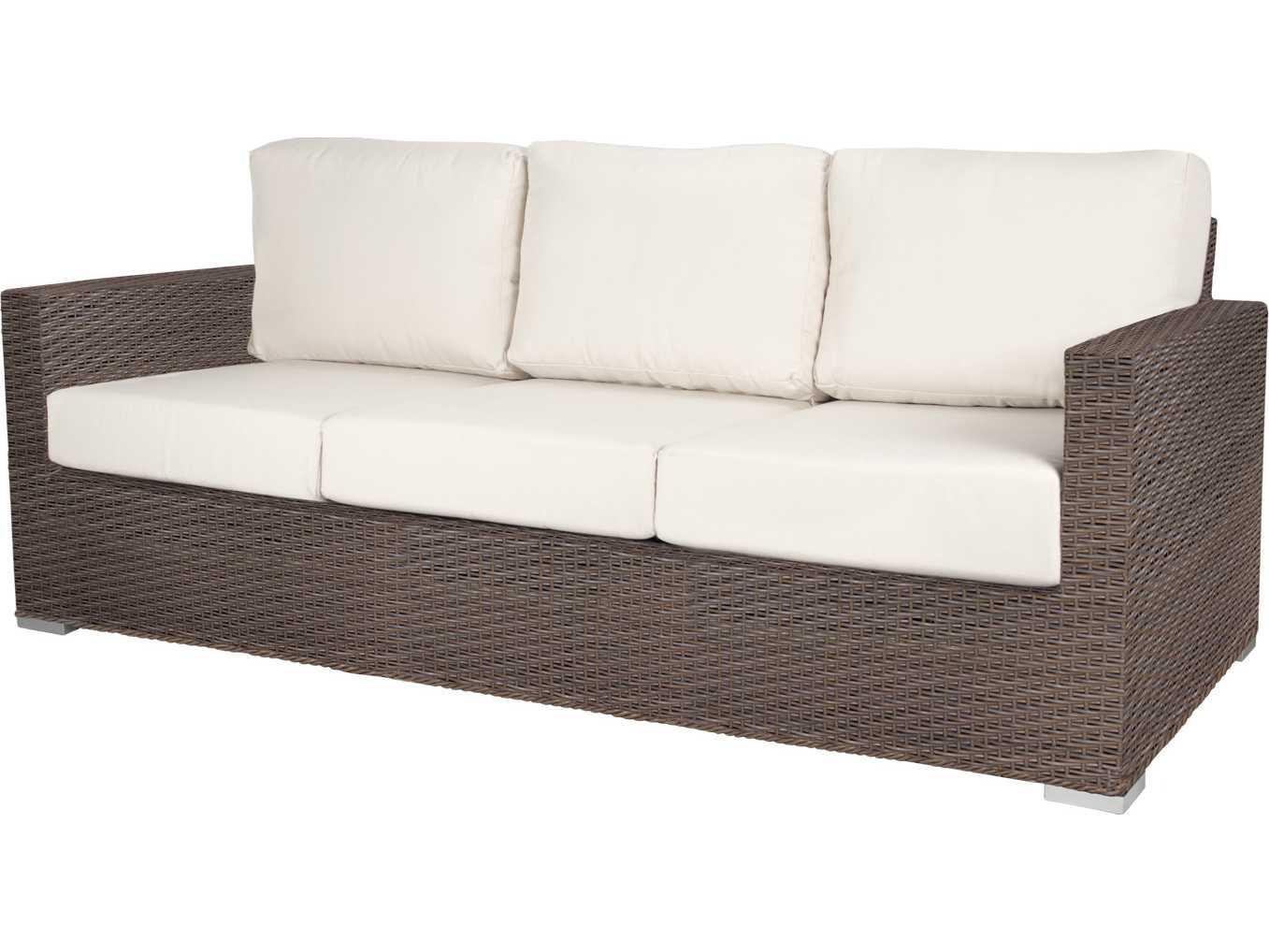 Source outdoor furniture lucaya wicker sofa scso2012103 for Source outdoor furniture