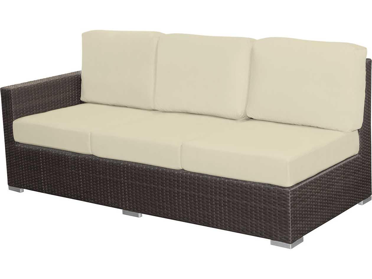 Source outdoor furniture lucaya wicker left arm facing for Source outdoor furniture