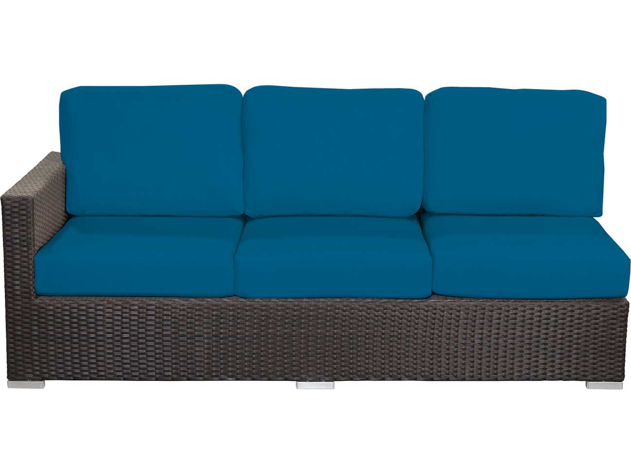 source outdoor furniture lucaya left arm sofa replacement cushion so 2012 113c. Black Bedroom Furniture Sets. Home Design Ideas