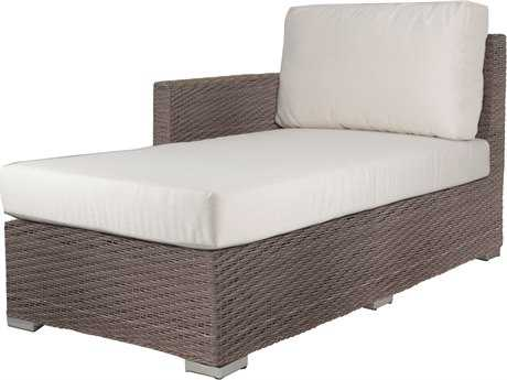 Source Outdoor Furniture Lucaya Wicker Left Arm Chaise