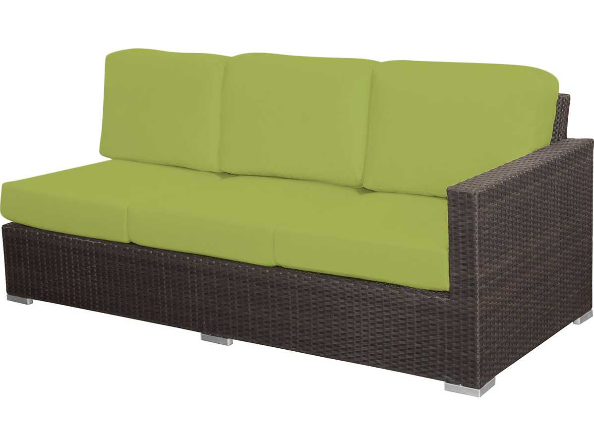 Source outdoor furniture lucaya wicker right arm facing for Furniture 123 code