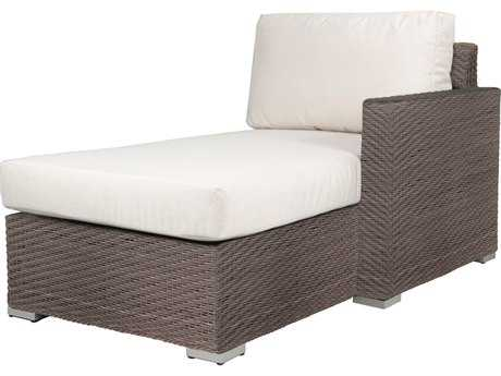 Source Outdoor Furniture Lucaya Wicker Right Arm Chaise