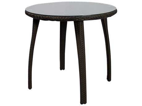 Source Outdoor Furniture Tuscanna Wicker 32 Round Dining Table