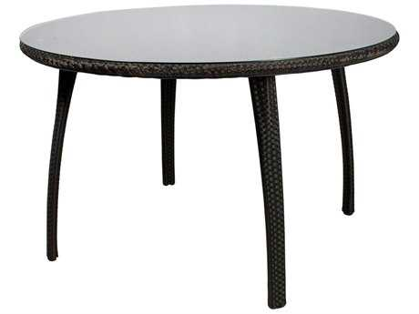 Source Outdoor Furniture Tuscanna Wicker 48 Round Dining Table