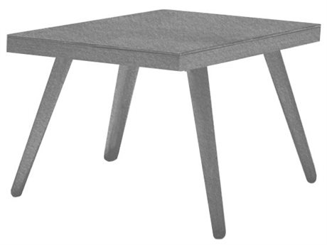 Source Outdoor Furniture Aria 20'' Wide Aluminum Square End Table