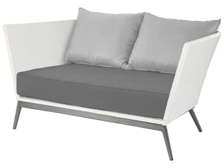 Source Outdoor Furniture Cosmo Aluminum Loveseat PatioLiving