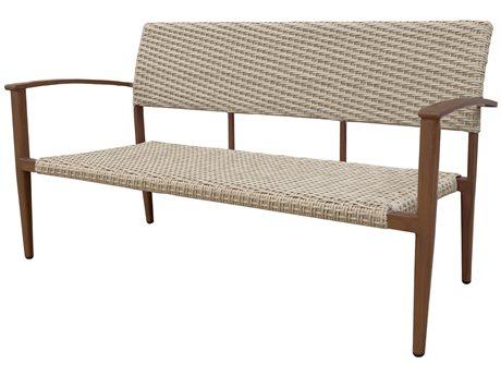 Source Outdoor Furniture Azur Aluminum Wicker Loveseat