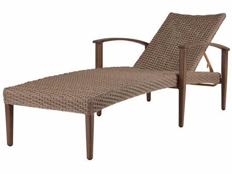 Source Outdoor Furniture Azur Aluminum Wicker Chaise Lounge