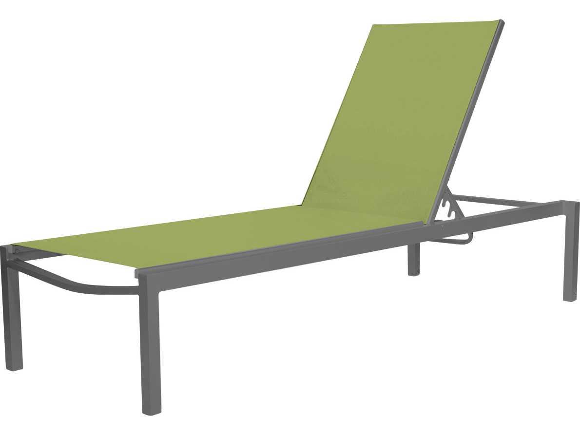 Source outdoor furniture fusion aluminum armless chaise for Source outdoor furniture