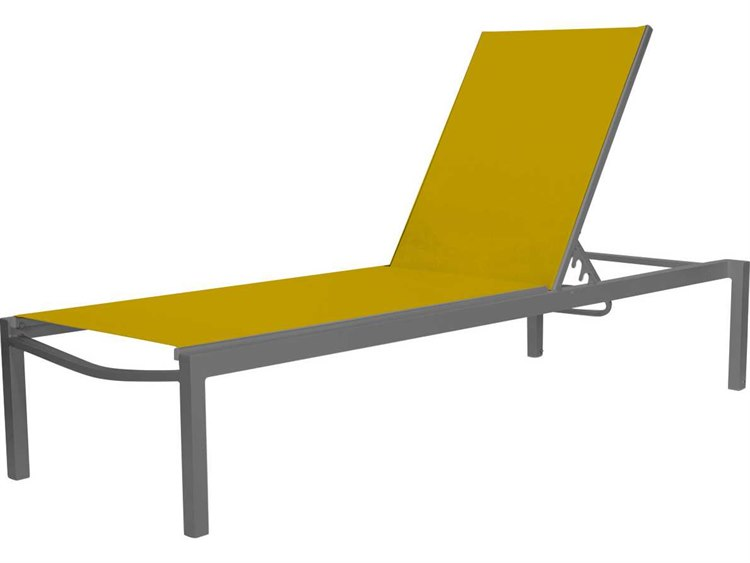 Source Outdoor Furniture Fusion Aluminum Armless Chaise PatioLiving