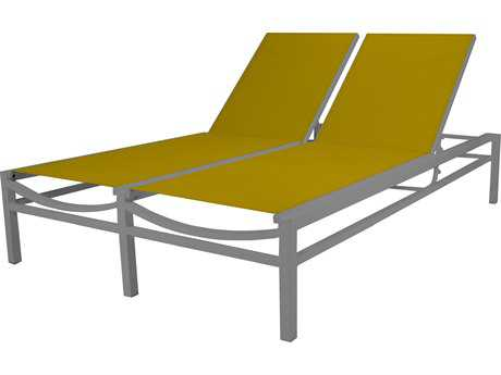 Source Outdoor Furniture Fusion Aluminum Sling Chaise Lounge