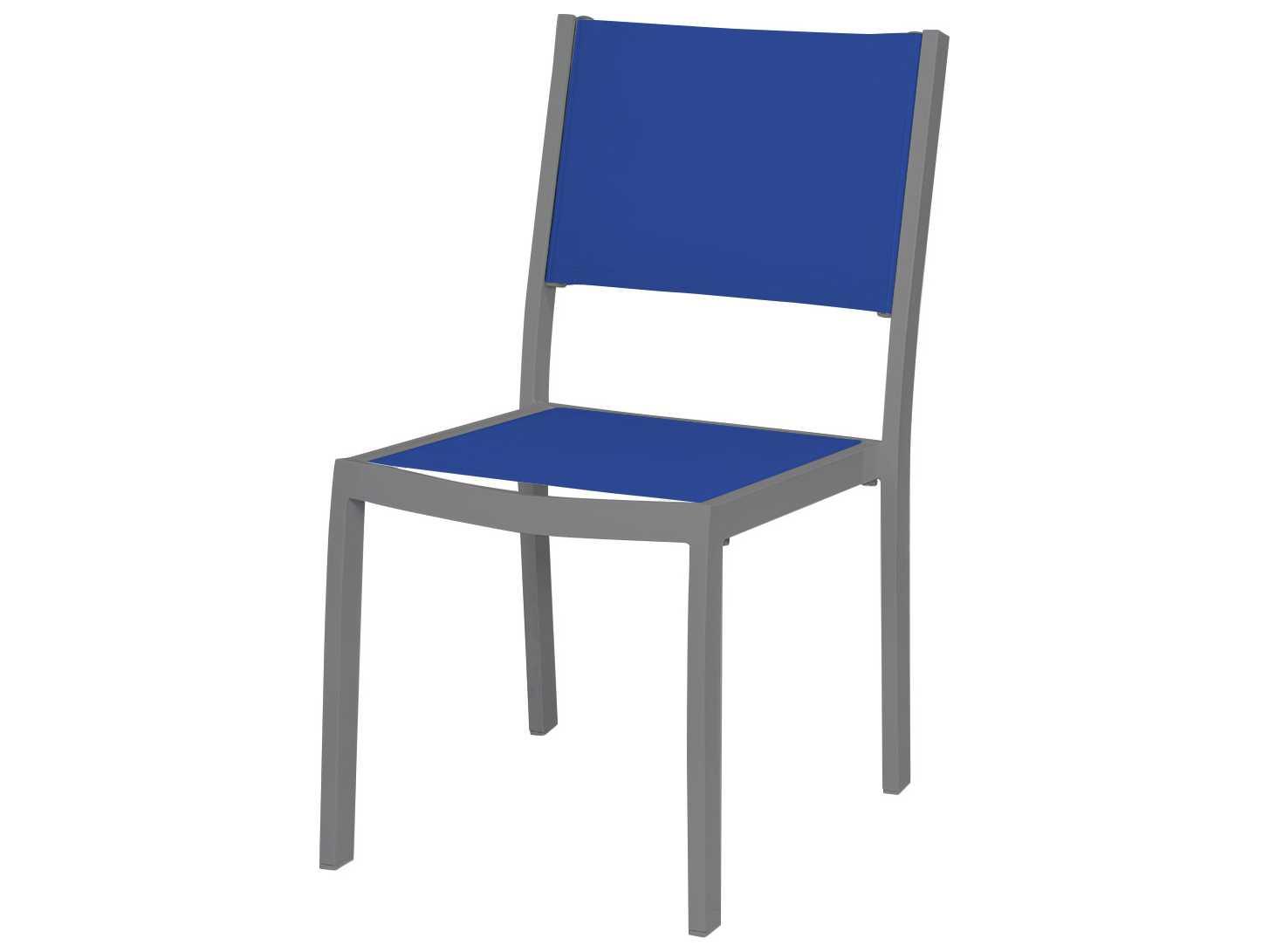 Source outdoor furniture fusion aluminum dining side chair for Source outdoor furniture