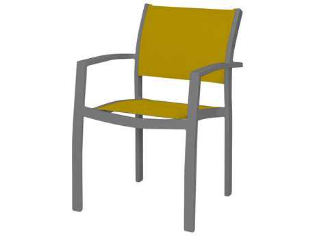 Source Outdoor Furniture Fusion Aluminum Dining Arm Chair