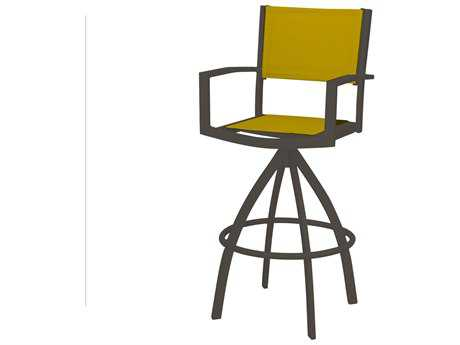 Source Outdoor Furniture Fusion Aluminum Swivel Bar Chair