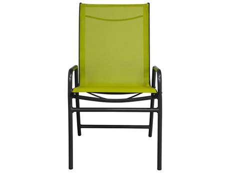 Source Outdoor Furniture Berkley Sunbrella Canvas Granite Fabric Dining Arm Chair Sling Replacement Cushion (OPEN BOX)