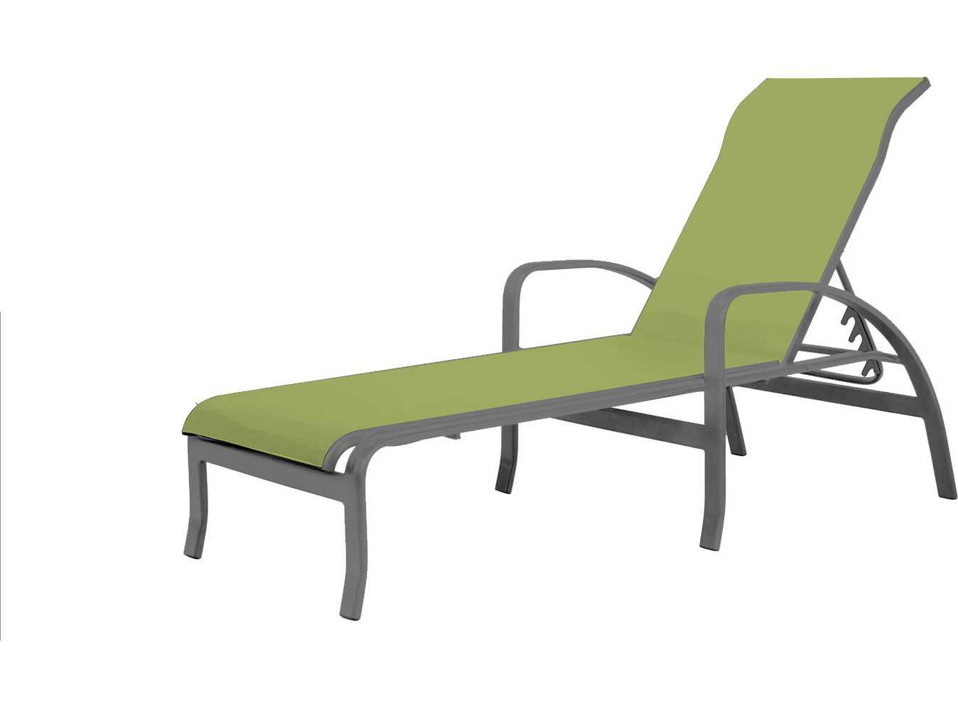 Source outdoor furniture daytona aluminum chaise with arms for Source outdoor furniture