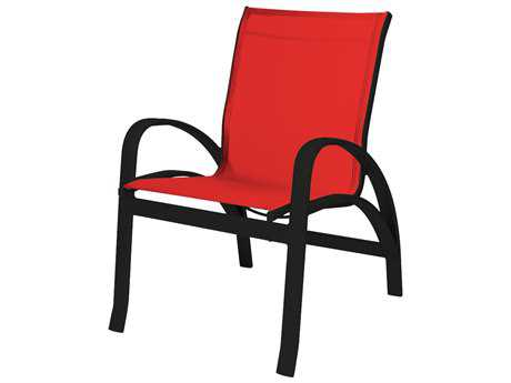 Source Outdoor Furniture Daytona Aluminum Dining Arm Chair