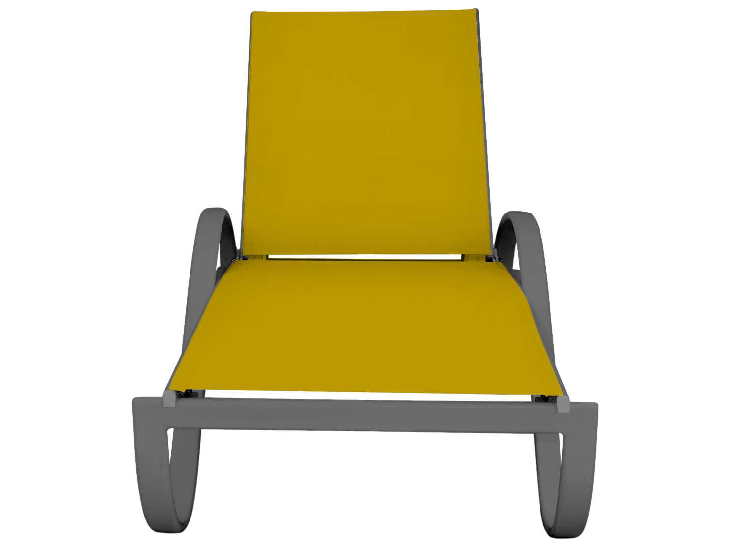 Source outdoor furniture atlantic chaise with arms for Chaise cushions outdoor