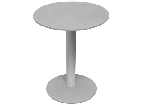Source Outdoor Furniture Tides 18'' Wide Aluminum Round End Table