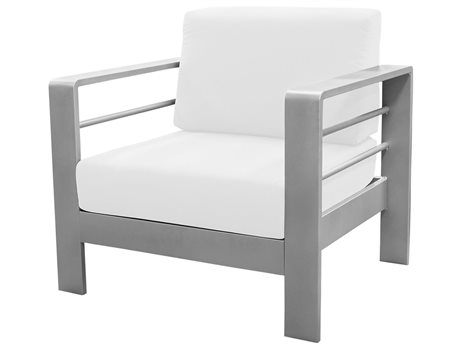 Source Outdoor Furniture Omni Aluminum Cushion Lounge Chair