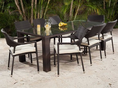 Source Outdoor Furniture Tuscanna Wicker Dining Set
