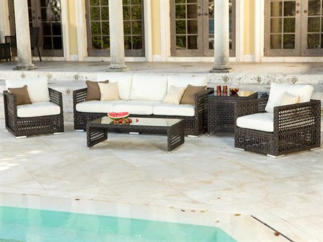 Source Outdoor Furniture Matterhorn Wicker Lounge Set