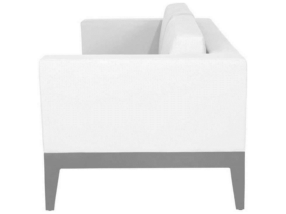 Source outdoor furniture south beach aluminum loveseat for Source outdoor furniture