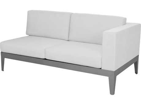 source outdoor furniture south. source outdoor furniture south beach aluminum right arm loveseat t