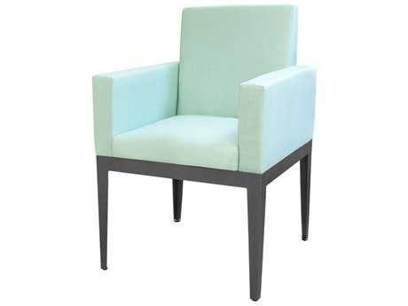 Source Outdoor Furniture South Beach Aluminum Dining Arm Chair