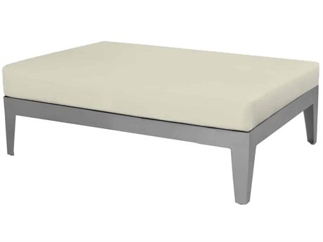 Source Outdoor Furniture South Beach Aluminum Cushion Bench