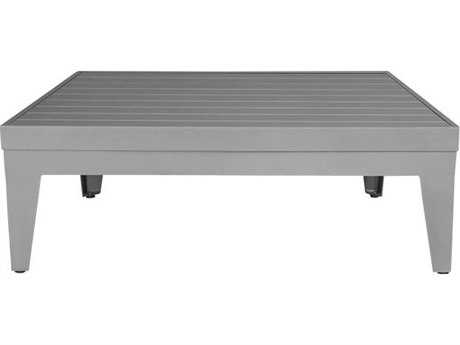 Source Outdoor Furniture South Beach Aluminum 31 Square Coffee Table PatioLiving