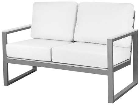 Source Outdoor Furniture Modera Aluminum Loveseat