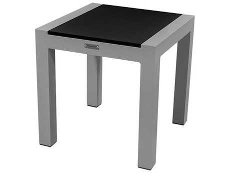 Source Outdoor Furniture Milano Aluminum 18 Square End Table