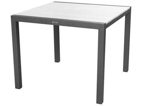 Source Outdoor Furniture Modera Aluminum 37 Square Dining Table - Seats 4