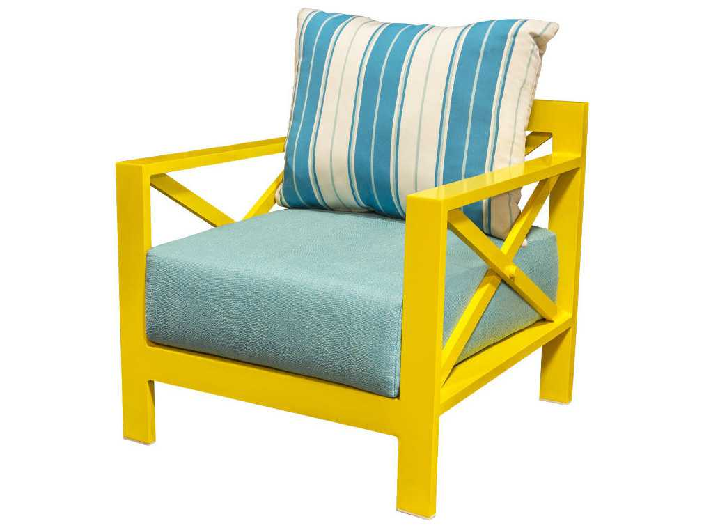 Source outdoor furniture dynasty aluminum club chair for Source outdoor furniture