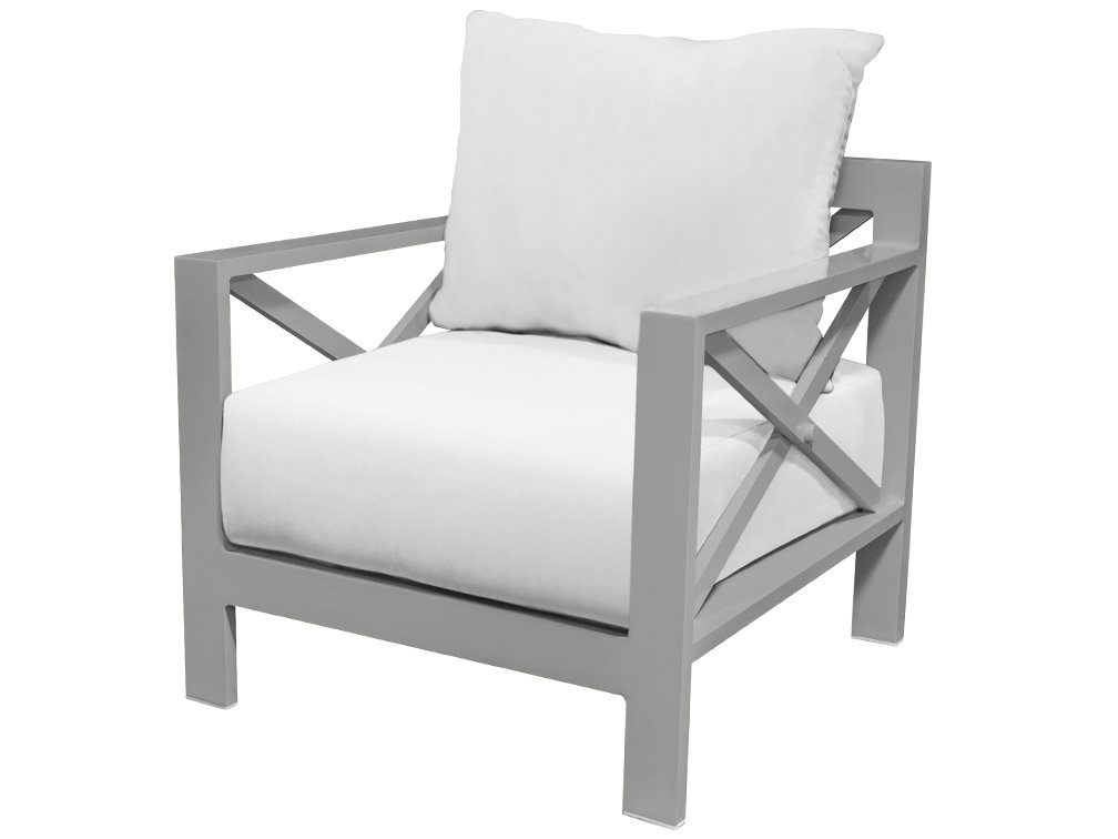 Source outdoor furniture dynasty aluminum club chair so for Contract outdoor furniture