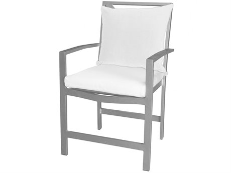Source Outdoor Furniture Dynasty Aluminum Cushion Dining Chair