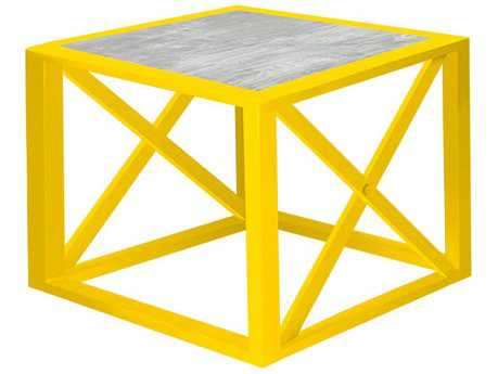 Source Outdoor Furniture Dynasty Aluminum 24 Square End Table