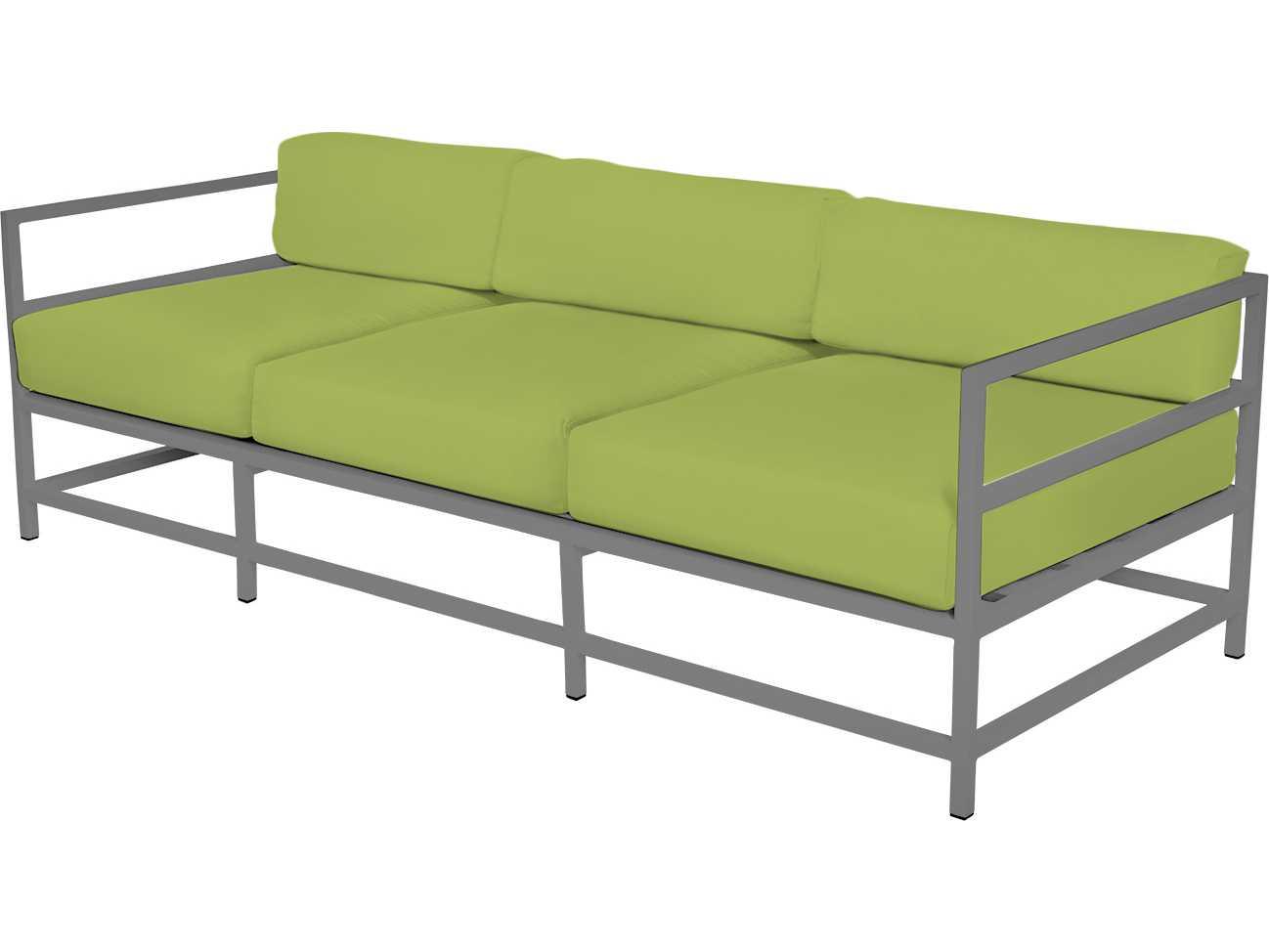 Source outdoor furniture delano aluminum sofa so 3209 103 for Source outdoor furniture