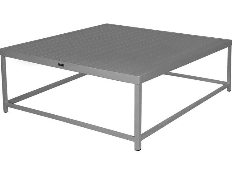 Source Outdoor Furniture Delano Aluminum 42 Square Coffee Table