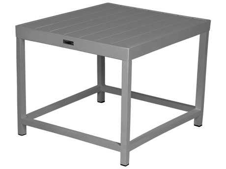 Source Outdoor Furniture Delano Aluminum 24 Square End Table