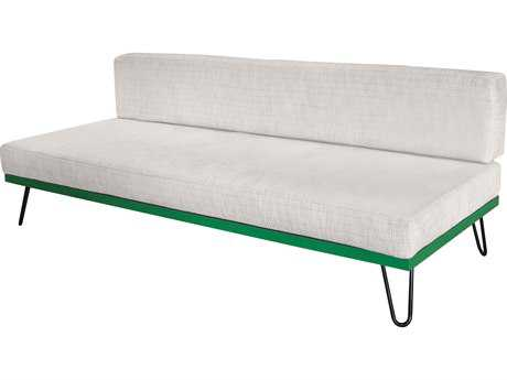 Source Outdoor Furniture Viceroy Aluminum Armless Sofa SCSO3211133