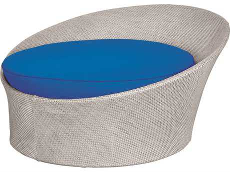 Source Outdoor Furniture Aqua Aluminum Small Daybed (Round)