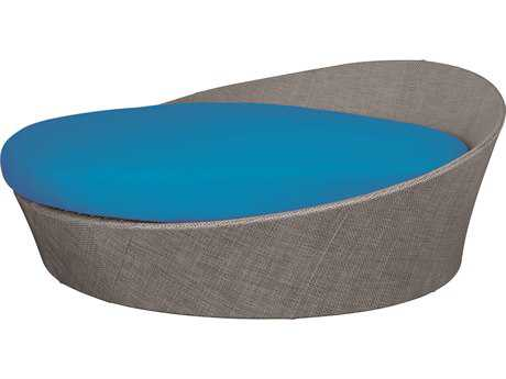 Source Outdoor Furniture Aqua Aluminum Large Daybed (Round)