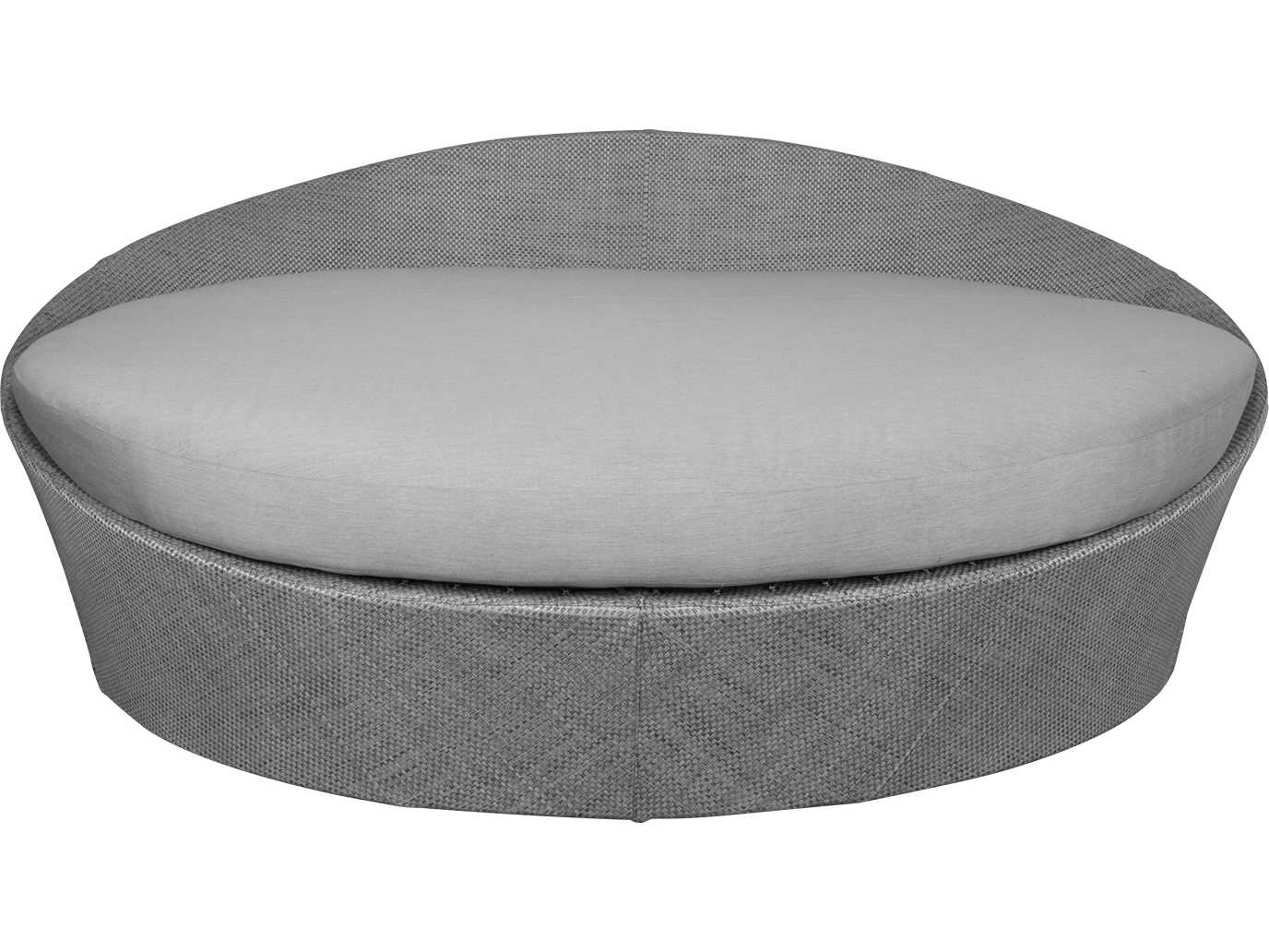 source outdoor furniture aqua large daybed round replacement cushion so 3401 223c. Black Bedroom Furniture Sets. Home Design Ideas