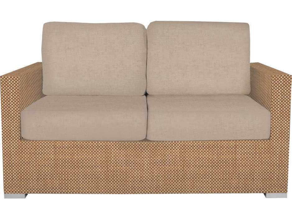 Source Outdoor Furniture Lucaya Upholstered Loveseat