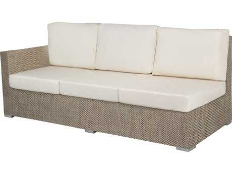Source Outdoor Furniture Lucaya Wrap Aluminum Left Arm Facing Sofa