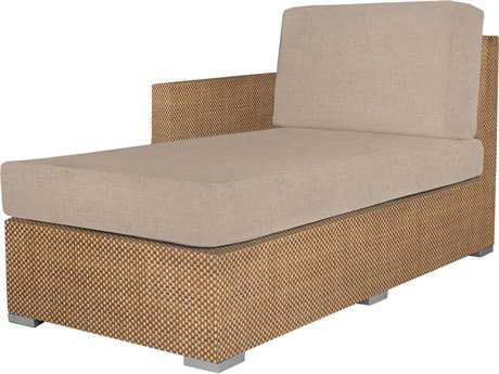 Source Outdoor Furniture Lucaya Upholstered Left Arm Chaise Replacement Cushion