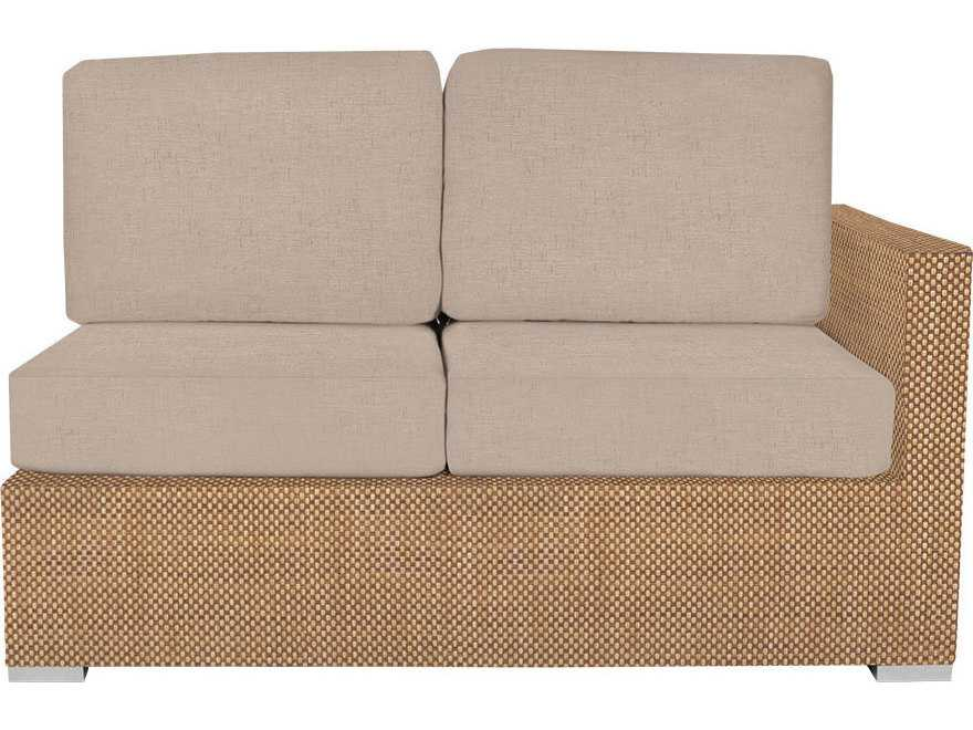 Source Outdoor Furniture Lucaya Upholstered Right Arm Loveseat