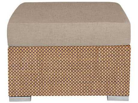 Source Outdoor Furniture Lucaya Upholstered Ottoman Rectangular Replacement Cushion